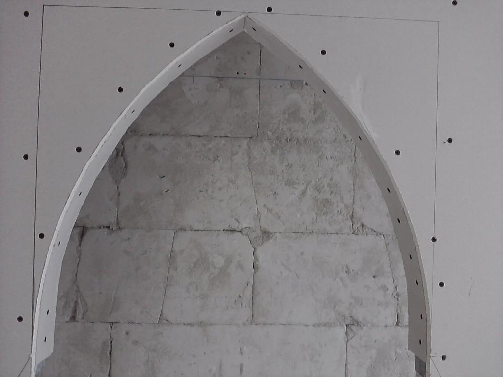 Jak wykonać łuk gotycki