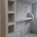 Półka z płyty gipsowej - krok po kroku