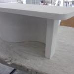 Stolik z płyty gipsowej