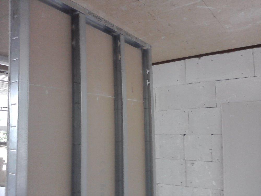 Ścianka z płyt gipsowych