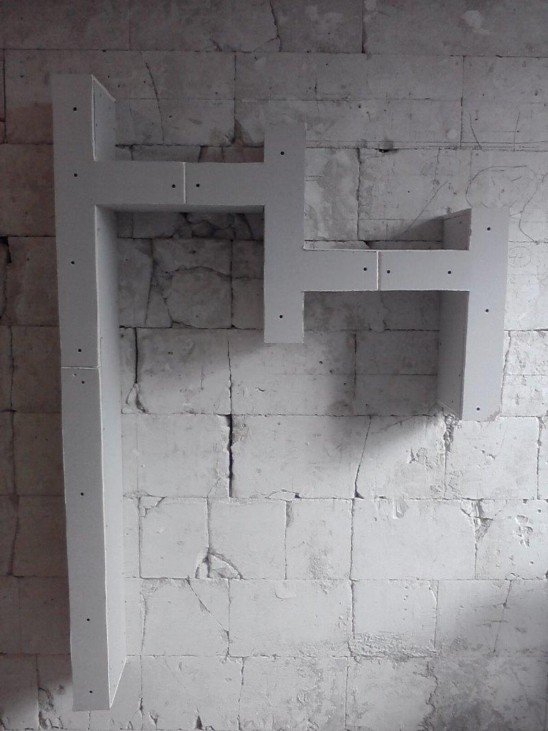 Półka Z Płyt Gipsowych Prosta Konstrukcja Prosty Montaż