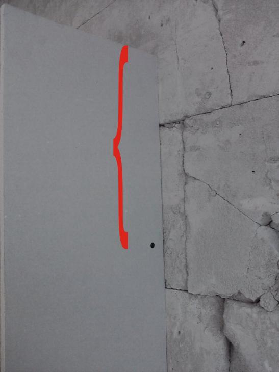 Półka z płyt gipsowych - prosta konstrukcja, prosty montaż