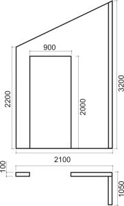Ścianka na poddaszu - ułożenie płyt g/k